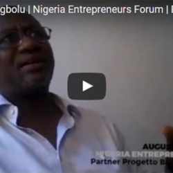 Augustine Chigbolu Nigeria Entrepreneurs Forum Back To The Future